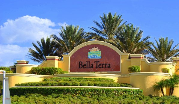 Bella Terra Entrance