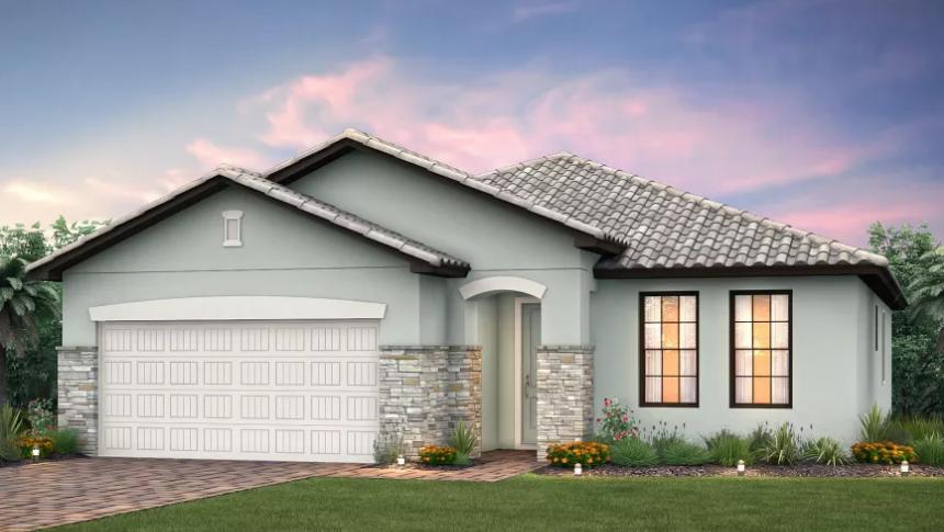 Canopy Single Family Model home