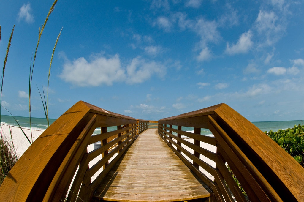 Naples FL _ Beach access