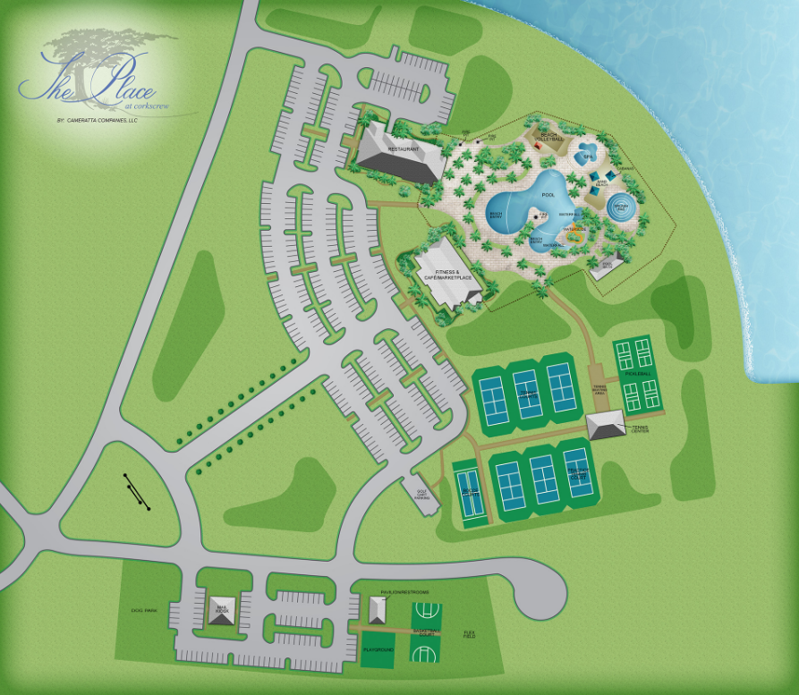 The Place Amenities Map