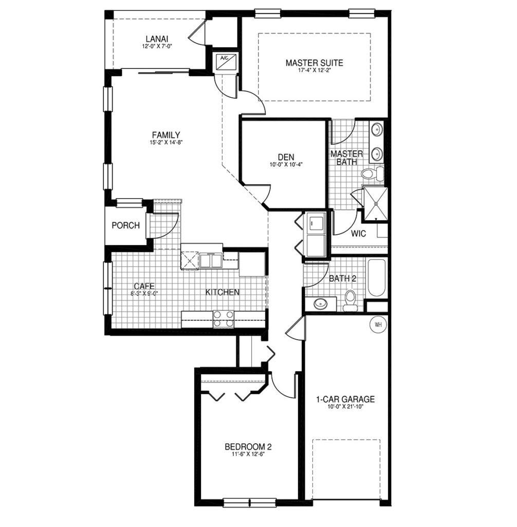 Victoria Floor Plan - Paloma Bonita