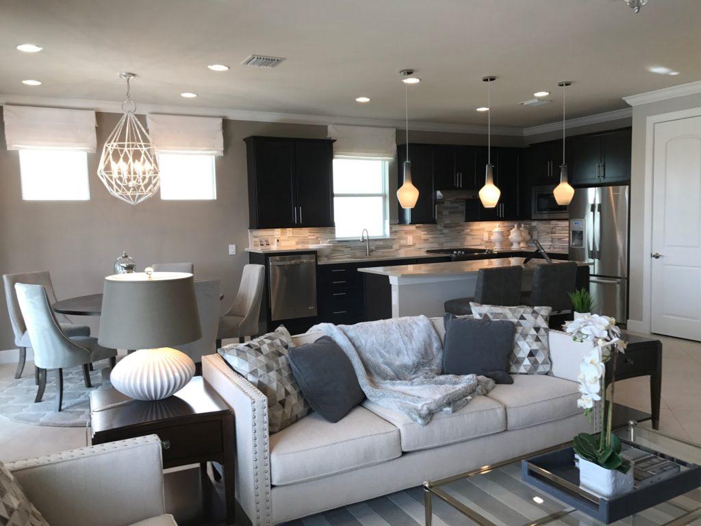 Living room Decor - Abbeyville Tidewater Estero Fl New Construction