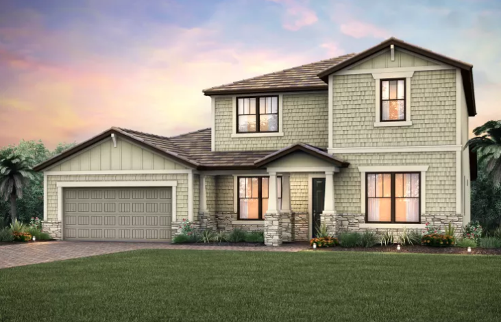 Weatherford Pulte Floor plan