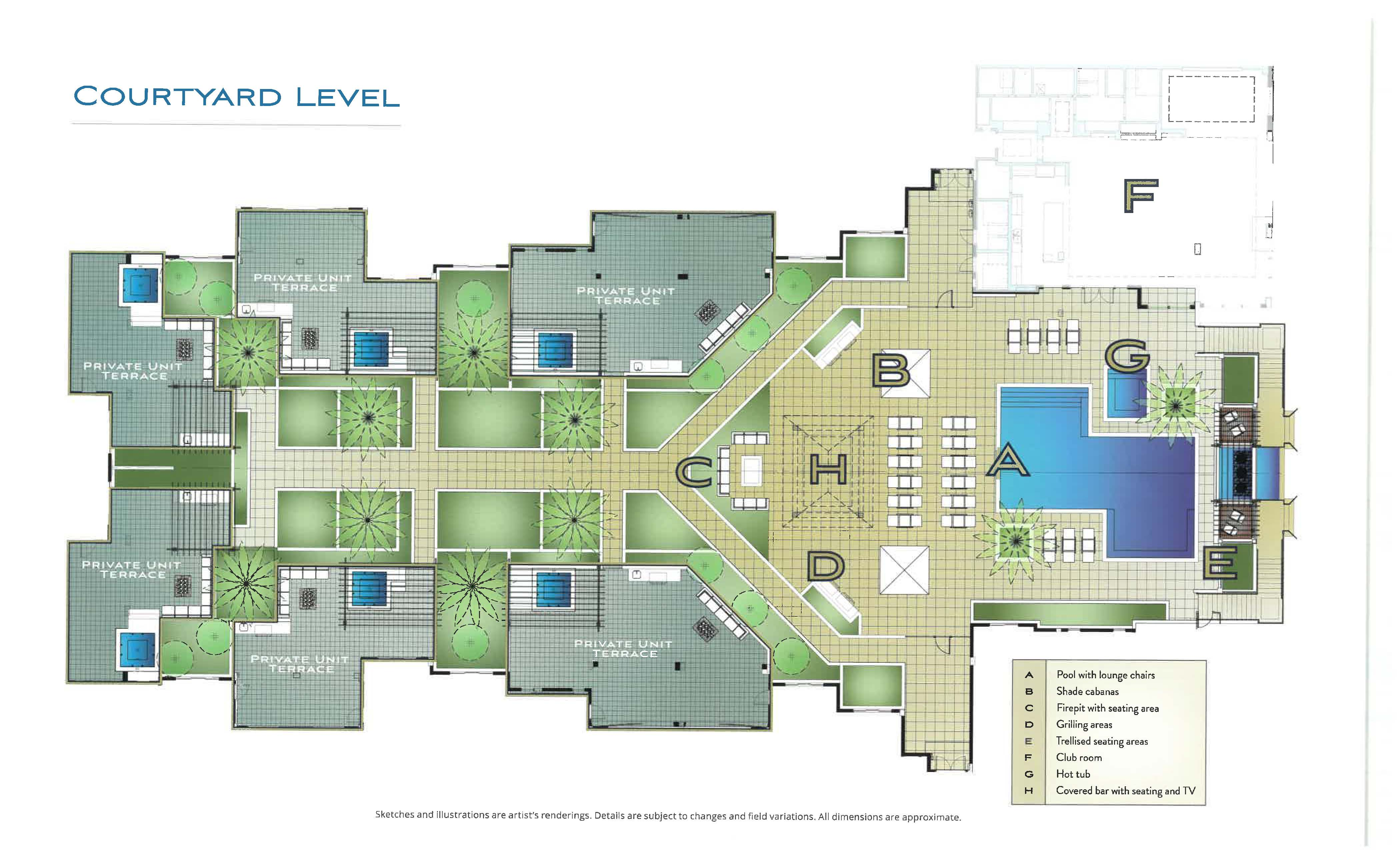 Naples Square Site Plan
